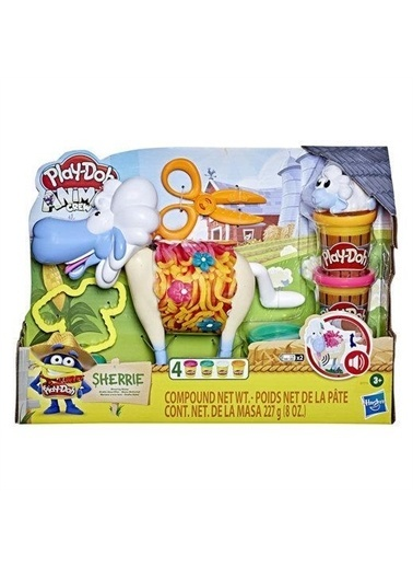 Play-Doh  Çılgın Koyun E7773 Renkli